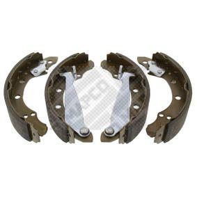 Bremsbackensatz Breite: 40mm mit OEM-Nummer 6Q0 698 525 A