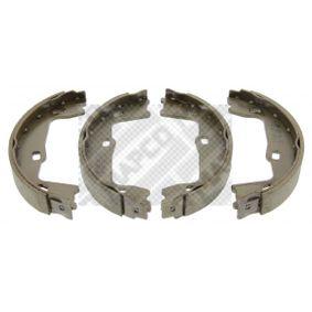 Bremsbackensatz Breite: 25mm mit OEM-Nummer 90509606