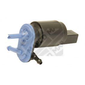 Waschwasserpumpe, Scheibenreinigung Spannung: 12V, Pol-Anzahl: 2-polig mit OEM-Nummer 1J6955651