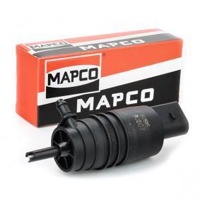MAPCO Waschwasserpumpe, Scheibenreinigung 90807 für AUDI A4 Cabriolet (8H7, B6, 8HE, B7) 3.2 FSI ab Baujahr 01.2006, 255 PS