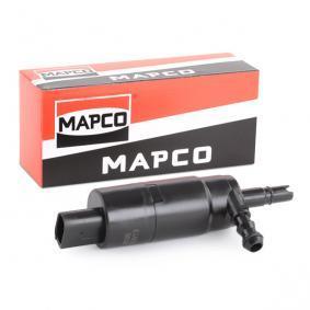 MAPCO Waschwasserpumpe, Scheinwerferreinigung 90813 für AUDI A4 Cabriolet (8H7, B6, 8HE, B7) 3.2 FSI ab Baujahr 01.2006, 255 PS