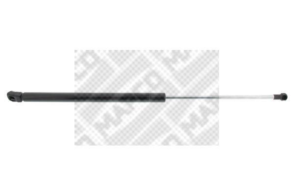 MAPCO  91817 Heckklappendämpfer / Gasfeder Länge: 500mm, Hub: 200mm, Länge: 500mm