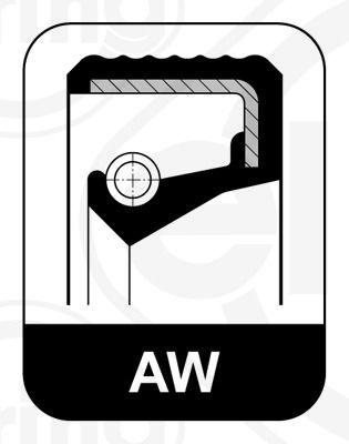 ELRING  494.402 Wellendichtring, Kurbelwelle Innendurchmesser: 65mm, Ø: 85mm