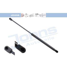 JOHNS  13 09 95-92 Heckklappendämpfer / Gasfeder Länge: 500mm, Hub: 205mm