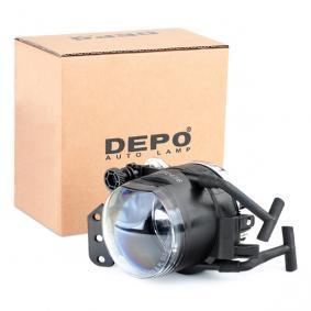 JOHNS Nebelscheinwerfer 20 08 30-6 für BMW 5 (E60) 530 xi ab Baujahr 01.2007, 272 PS