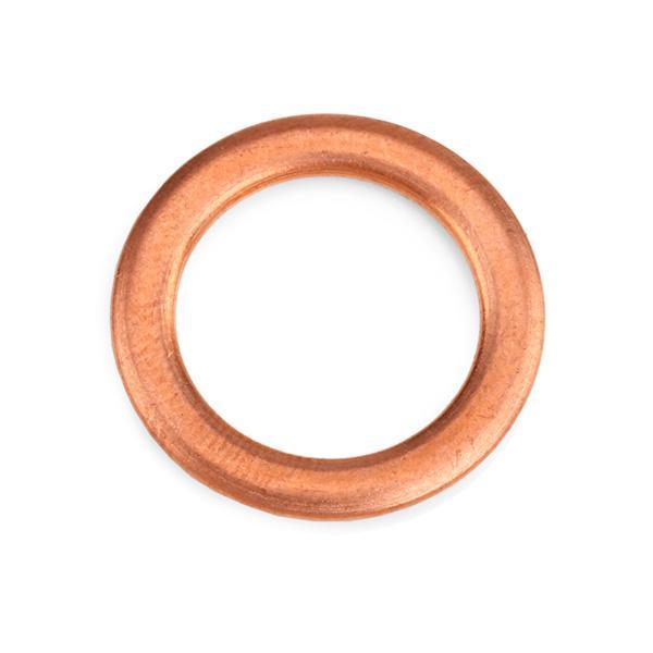 ELRING Στεγανοποιητικός δακτύλιος, τάπα εκκένωσης λαδιού Χαλκός, Εσωτερική διάμετρος: 14mm 394.290
