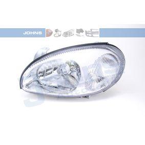 JOHNS  24 01 09 Hlavní světlomet pro vozidla s regulaci sklonu světlometu (elektrický)