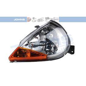 JOHNS  32 51 09 Hauptscheinwerfer für Fahrzeuge mit Leuchtweiteregelung (elektrisch)