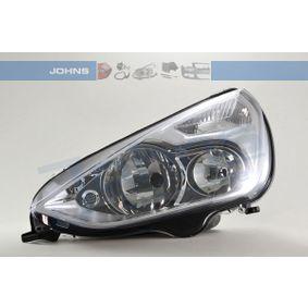 JOHNS  32 75 09 Hauptscheinwerfer für Fahrzeuge mit Leuchtweiteregelung (elektrisch)
