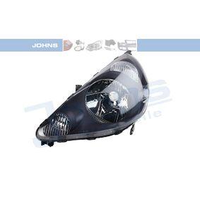 JOHNS  38 01 09 Hauptscheinwerfer für Fahrzeuge mit Leuchtweiteregelung (elektrisch), schwarz