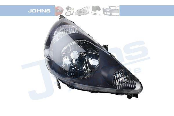JOHNS  38 01 10 Hauptscheinwerfer für Fahrzeuge mit Leuchtweiteregelung (elektrisch), schwarz