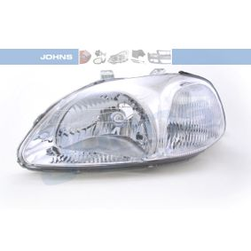 JOHNS  38 08 09-2 Hauptscheinwerfer für Fahrzeuge mit Leuchtweiteregelung (elektrisch)