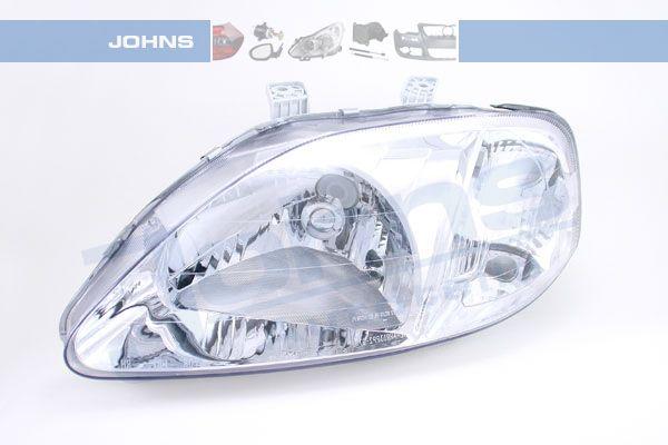 JOHNS  38 08 09-4 Hauptscheinwerfer für Fahrzeuge mit Leuchtweiteregelung (elektrisch)
