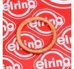 Seal, oil drain plug 110.604 ELRING Copper Ø: 16mm, Thickness: 1,5mm, Inner Diameter: 12mm