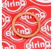 Seal, oil drain plug 110.604 ELRING Copper Ø: 16mm, Thickness: 1,5mm, Inner Diameter: 12mm