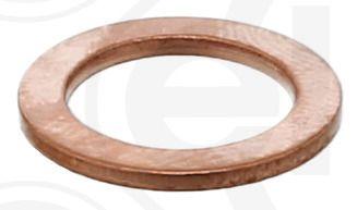 ELRING Στεγανοποιητικός δακτύλιος, τάπα εκκένωσης λαδιού Χαλκός, Εσωτερική διάμετρος: 12mm 111.104