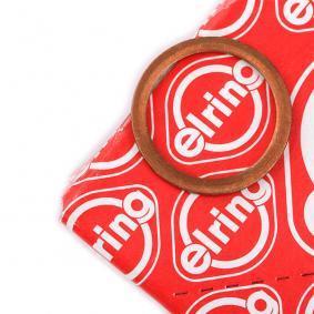 Уплътнителен пръстен, пробка за източване на маслото Ø: 18мм, дебелина: 1,5мм, вътрешен диаметър: 14мм с ОЕМ-номер 18671