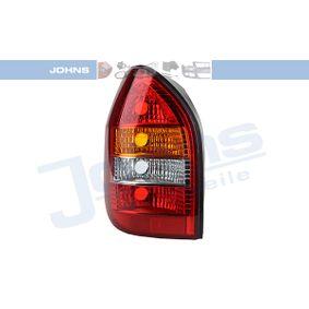 Opel Zafira f75 1.6 16V (F75) Heckleuchte JOHNS 55 71 87-1 (1.6 16V (F75) Benzin 2005 Z 16 XE)