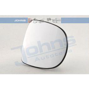 Renault Clio 3 1.2 Ethanol (CR1U, BR1U) Außenspiegelglas JOHNS 60 09 38-82 (1.2 Ethanol (CR1U, BR1U) Benzin/Ethanol 2008 D4F 742)