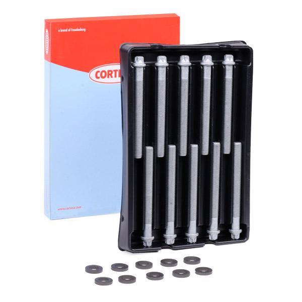 CORTECO  016214B Zylinderkopfschraubensatz Gewindemaß: M12, Länge: 119mm