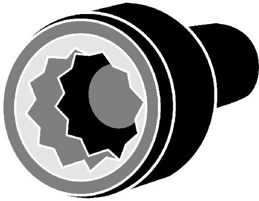 CORTECO  016272B Zylinderkopfschraubensatz Gewindemaß: M10, Länge: 80mm