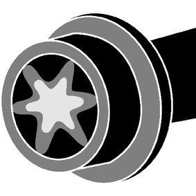 Zylinderkopfschraubensatz Gewindemaß: M12, Länge: 121mm mit OEM-Nummer 7700114745(x10)