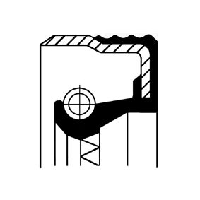 Tesnici krouzek hridele, hridel prevodovky 07033882B Octa6a 2 Combi (1Z5) 1.6 TDI rok 2013