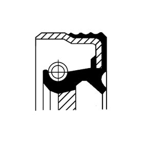 Wellendichtring, Kurbelwelle mit OEM-Nummer 4249-83