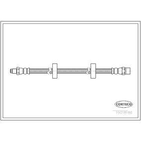 Bremsschlauch Länge: 312mm mit OEM-Nummer 191 611 701
