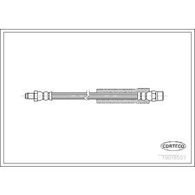 Bremsschlauch Länge: 303mm mit OEM-Nummer 3432 1 154 904