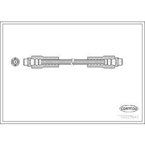 CORTECO Bremsschlauch 19025845 für AUDI A6 (4B2, C5) 2.4 ab Baujahr 07.1998, 136 PS