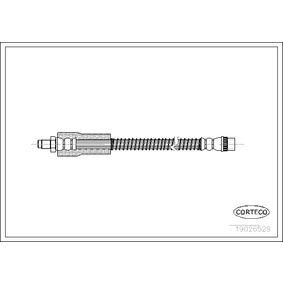 CORTECO  19026529 Bremsschlauch Länge: 320mm