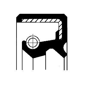 Composants Boite De Vitesse NISSAN PATROL GR I (Y60, GR) 4.2 CAT de Année 11.1988 165 CH: Bague d'étanchéité, casier de transfert (19027902B) pour des CORTECO