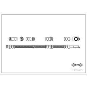 Bremsschlauch Länge: 565mm mit OEM-Nummer 1K0 611 701 H