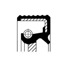 Kurbelwellendichtring für OPEL CORSA C (F08, F68) 1.2 75 PS ab Baujahr 09.2000 CORTECO Wellendichtring, Kurbelwelle (20020389B) für