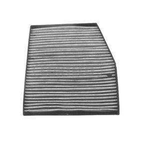 Filter, Innenraumluft Länge: 216mm, Breite: 163mm, Höhe: 25mm mit OEM-Nummer 4 677 0834