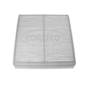 Filter, Innenraumluft Länge: 194mm, Breite: 195mm, Höhe: 20mm mit OEM-Nummer 6447.Z4