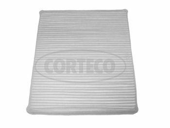 CORTECO  21651980 Filter, Innenraumluft Länge: 258mm, Breite: 231mm, Höhe: 30mm