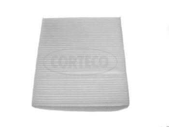 CORTECO  21652345 Filter, Innenraumluft Länge: 223mm, Breite: 198mm, Höhe: 30mm