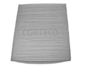 CORTECO  21652356 Filtru, aer habitaclu Lungime: 252mm, Latime: 216mm, Înaltime: 32mm