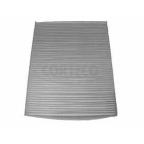 Filter, Innenraumluft Länge: 257mm, Breite: 202mm, Höhe: 30mm mit OEM-Nummer 6447.FF
