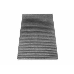 Filter, Innenraumluft Länge: 300mm, Breite: 203mm, Höhe: 30mm mit OEM-Nummer 8E0 819 439 C