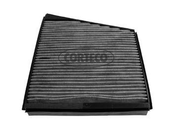 CORTECO  21652865 Filter, Innenraumluft Länge: 308mm, Breite: 254mm, Höhe: 35mm