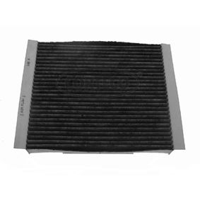 Filter, Innenraumluft Länge: 210mm, Breite: 242mm, Höhe: 32mm mit OEM-Nummer 1808527