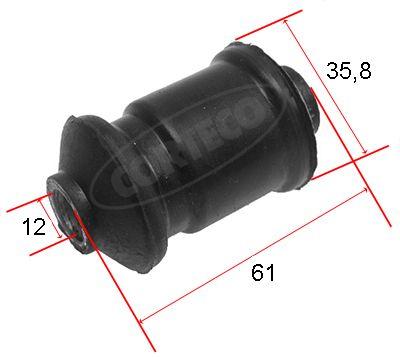 CORTECO  21653088 Lagerung, Lenker Ø: 35,8mm, Innendurchmesser: 12mm
