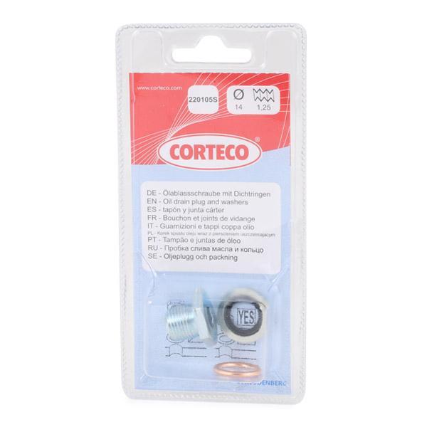 Tapon de carter CORTECO 220105S conocimiento experto