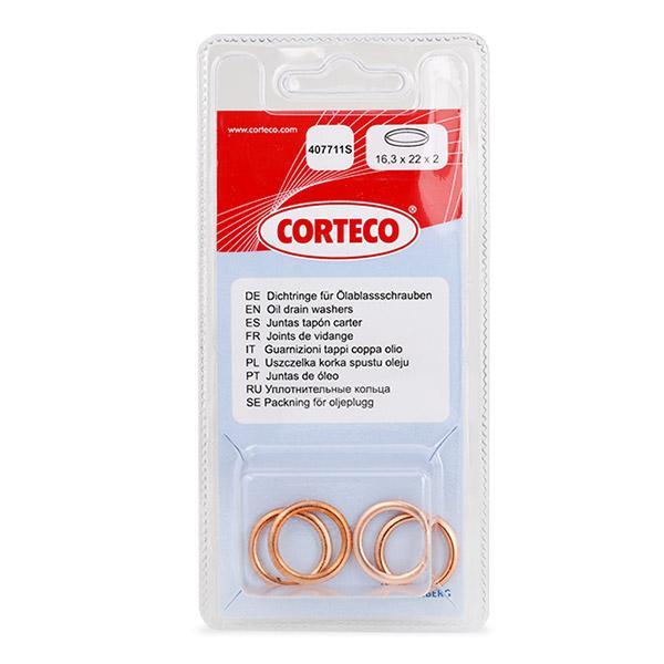 Junta de Tapon de Cárter 407711S CORTECO 84907711 en calidad original
