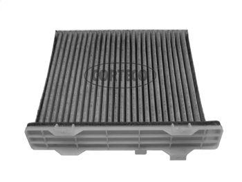 CORTECO  80000068 Filter, Innenraumluft Länge: 200mm, Breite: 215mm, Höhe: 30mm