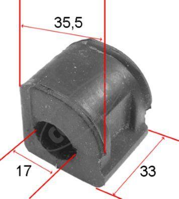 CORTECO  80000137 Lagerung, Stabilisator Innendurchmesser: 17mm