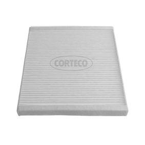 Filtro, aire habitáculo Long.: 230mm, Ancho: 200mm, Altura: 20mm con OEM número EC 96 539 649